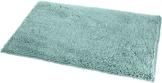 AmazonBasics - Badteppich, Hochflor, rutschfest, Mikrofaser, 53 x 86 cm, Meeresgrün - 1