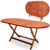 Deuba Gartentisch Esstisch Alabama Klappbar FSC®-zertifiziertes Akazien Holz 160x85cm Holztisch Garten Tisch Gartenmöbel - 1
