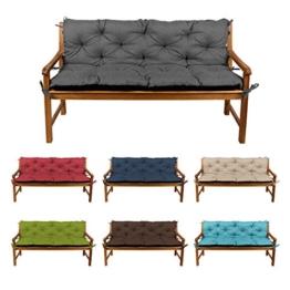 gutekissen Sitzbank-Kissen, für Terrasse, Rasen, Gartenschaukel, Gartenmöbel L - 1