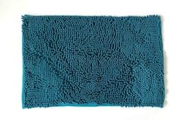 NEOMI Chenille badematte (Lyons Blue 40X60CM) - 1