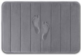 NEOMI Memory Form Badematte (grau, 40 x 60 cm) - 1