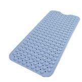 PUDDINGHH® Badewanneneinlage Badematte, Extra Lang 100 x 40cm, Sicher Gummi rutschfest mit Saugnäpfen, Maschinenwaschbar, Antibakteriell - 3 Farbe,Blau - 1
