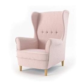Sofini Ohrensessel Milo! Sessel für Wohnzimmer & Esszimmer! Skandinawisch, Relaxsessel aus Webstoff, Best Sessel! (Beauty 4) - 1