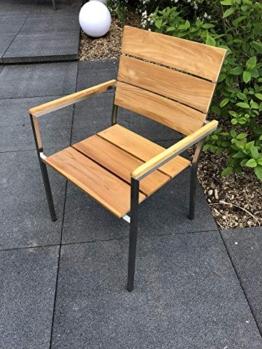 Teakstuhl Gartenstuhl Gartenmöbel - 1