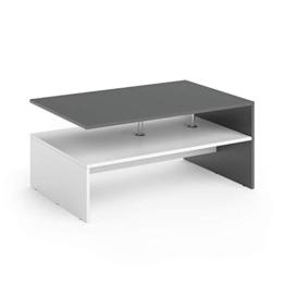 Vicco Couchtisch Amato Wohnzimmertisch Beistelltisch Holztisch Kaffeetisch Tisch 90 x 60 cm - 1