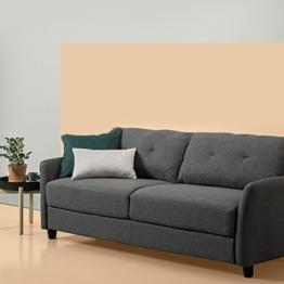 Zinus Sofa / Polstercouch / 200x80x78 / dunkelgrau - 1